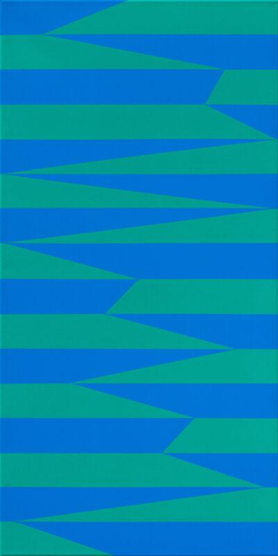 Vera Molnar, 'Paralleles et Obliques I', 1968-2016