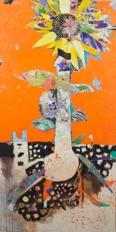 Fumiko Toda, 'Sunflower', 2016