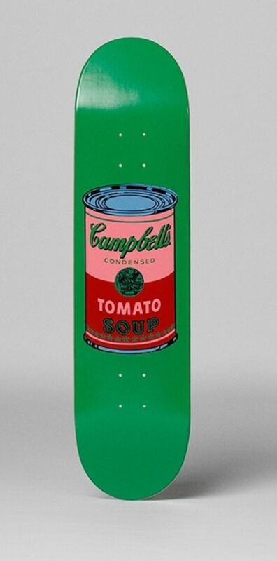 Andy Warhol, 'Campbells Soup Skate Deck', 2016
