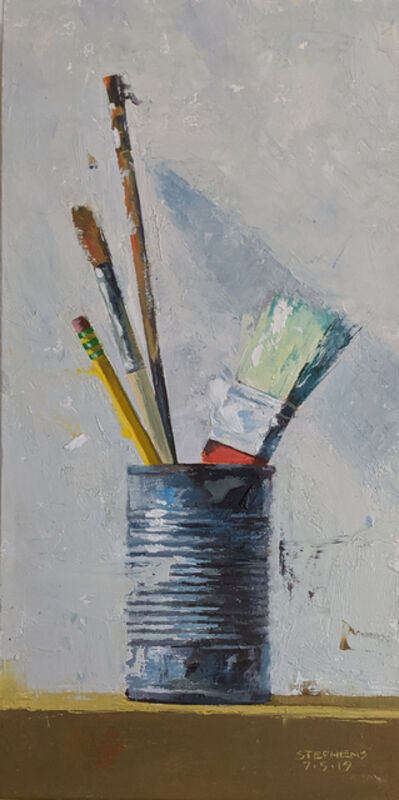 Craig Stephens, 'Brushes in Can #2'