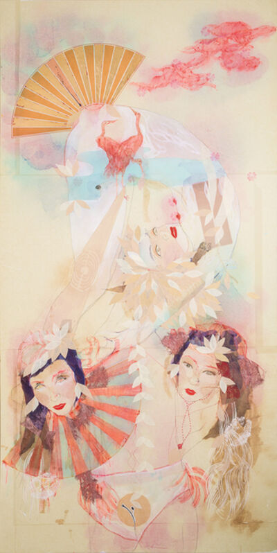 Elena Monzo, 'Silk 2', 2018