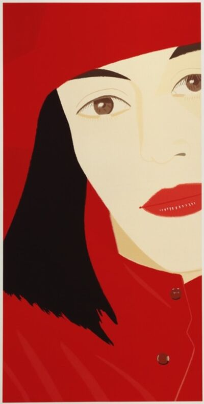 Alex Katz, 'Red Coat', 1983