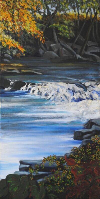 Linda Lynton, 'Powdermilk Falls [near the hamlet of Sawkill]', 2019