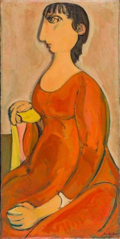 Domenico Cantatore, 'Figura femminile', 1950s