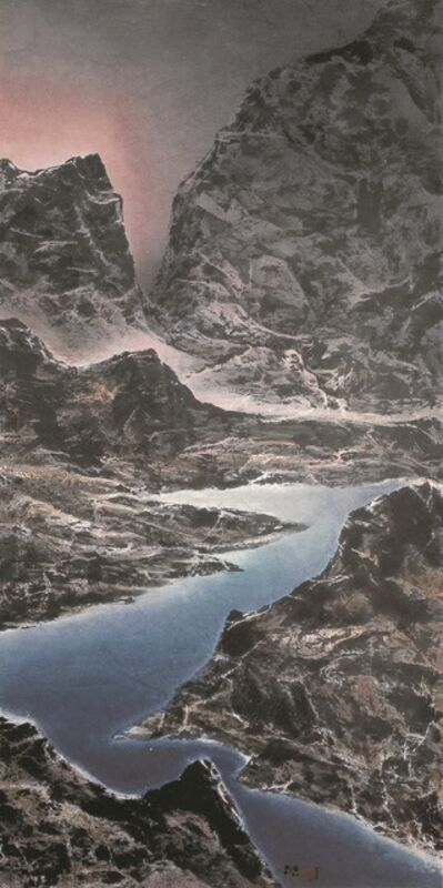 Liu Kuo-Sung, 'Ever-surging Dawn Light across the Straits 兩岸晨光涌不絕', 2007
