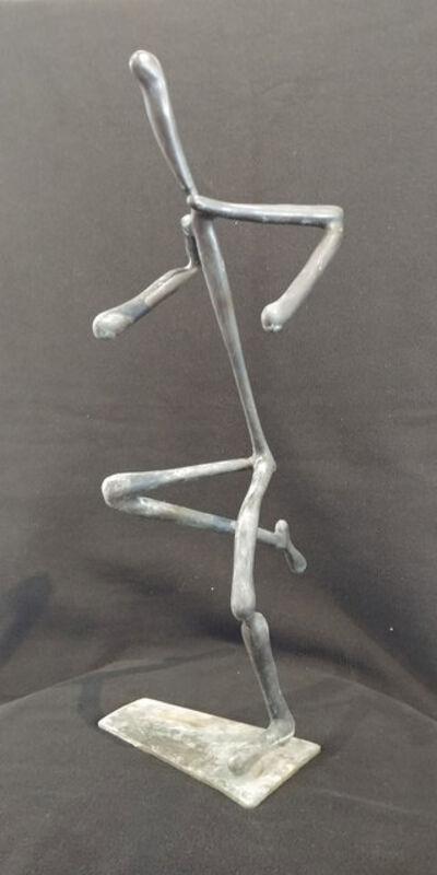 Larry Bell, 'Running Man Sculpture #11', 1994