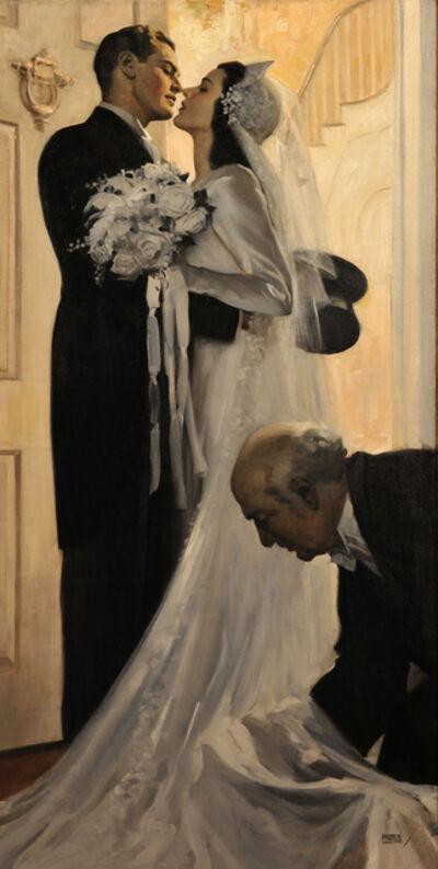 Andrew Loomis, 'The Wedding', 1940-1949