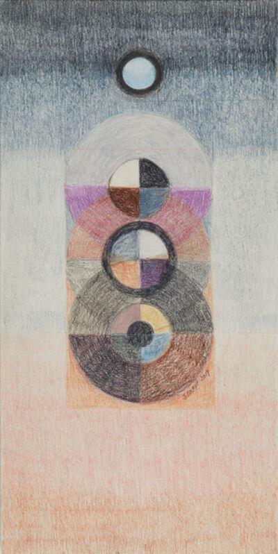 "Solange Knopf, 'Serie ""Cosmos"" No. 6', 2018"