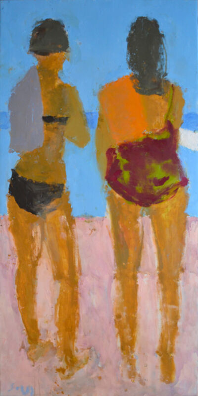 Sargy Mann, 'Two Bathers', ca. 2014