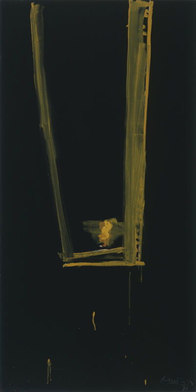 Robert Motherwell, 'Black Open', 1973