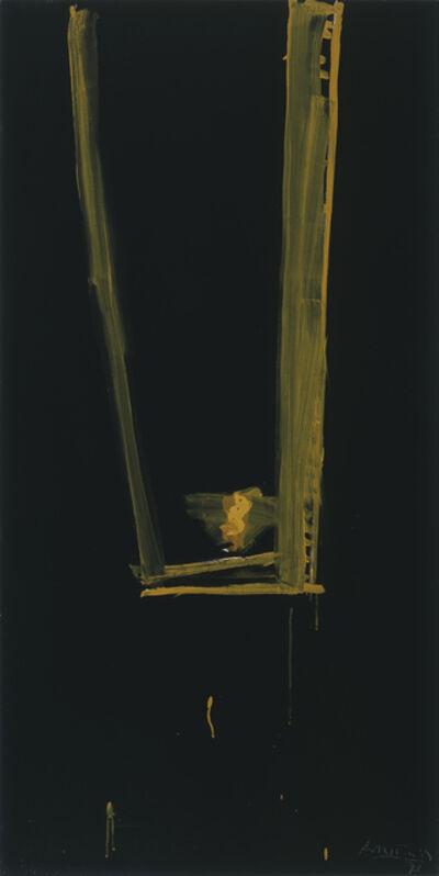 Robert Motherwell, 'Black Open', 1973