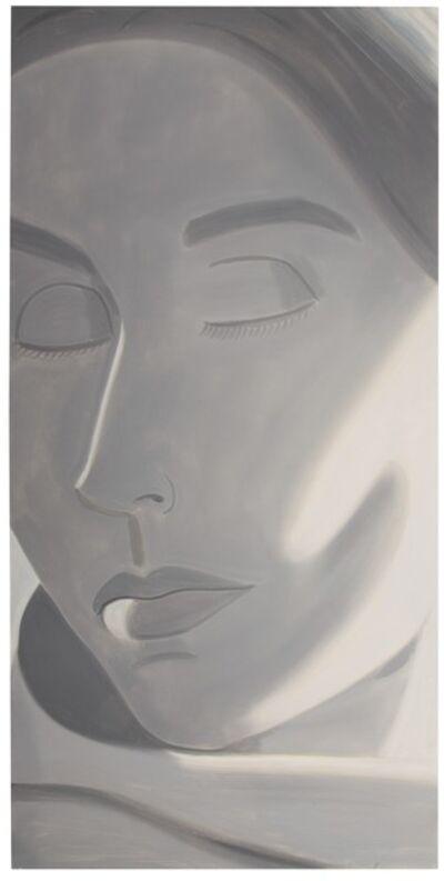 Alex Katz, 'Eyes Closed', 2004