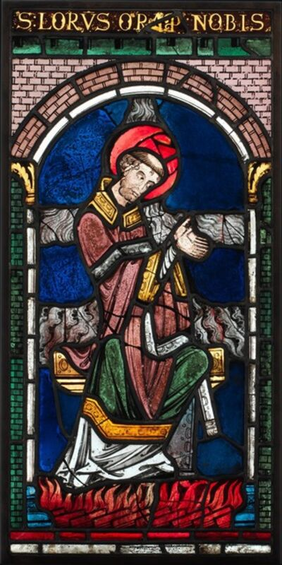 Unknown British, 'Martyrdom of Saint Lawrence', ca. 1180