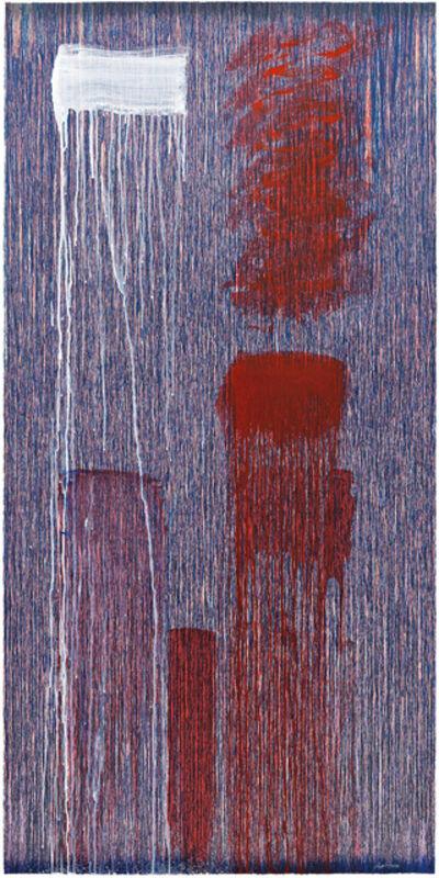 Pat Steir, 'Single A', 2015