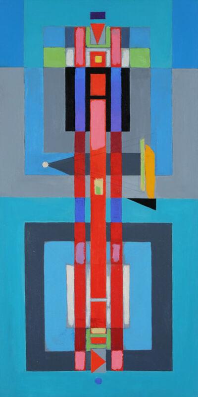 Rolph Scarlett, 'Untitled (Vertical Geometric) ', ca. 1945