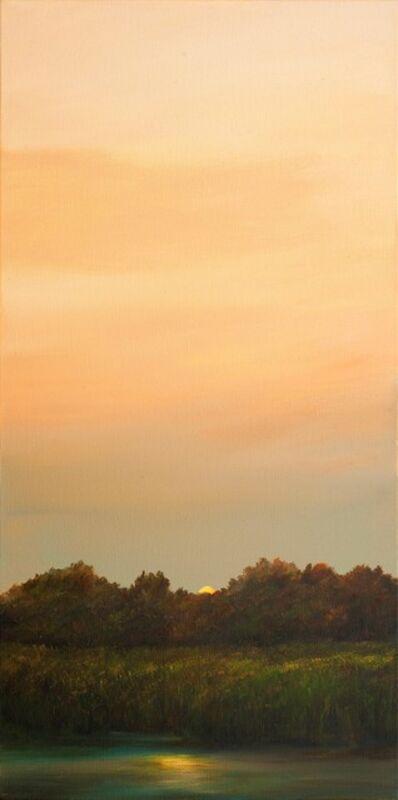 Ahzad Bogosian, 'Moonlight over the Marsh', 2018