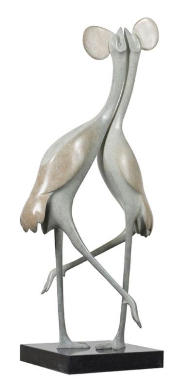 Evert den Hartog, 'Kraanvogels no. 3 (Cranes)', 2017