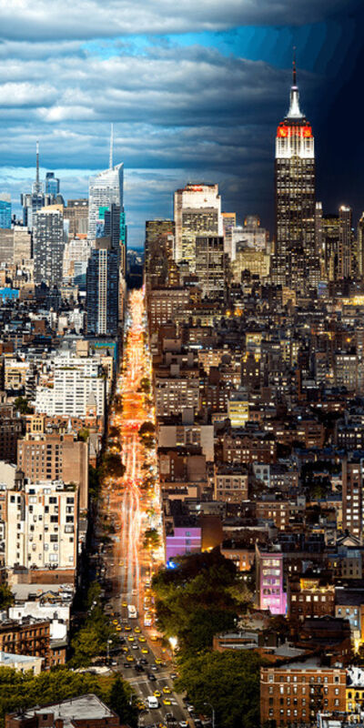 Andrew Prokos, 'Night & Day - Manhattan Cityscape #2', 2017