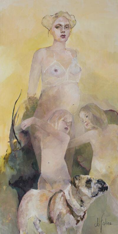 Françoise de Felice, 'Le bal des jumelles', 2018