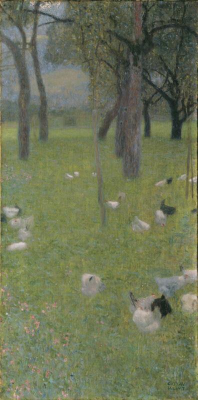Gustav Klimt, 'After the Rain (Garden with Chicken in St. Agatha)', 1898