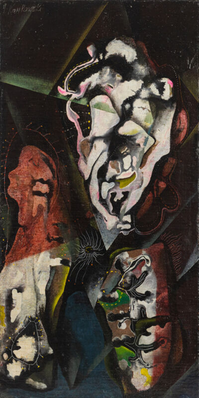 Gerome Kamrowski, 'Acrobats', 1939-1940