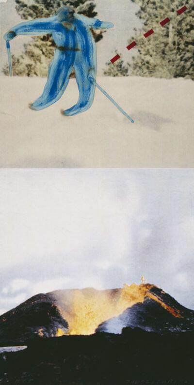 John Baldessari, 'Jump (with Volcano)', 1994