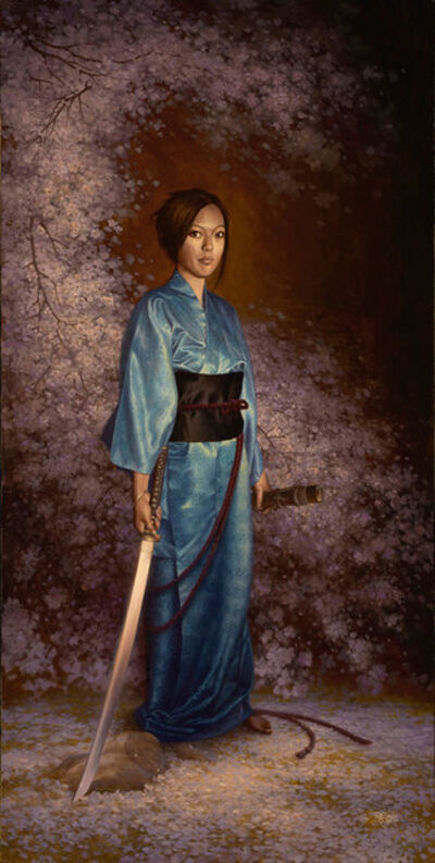 Christophe Vacher, 'The Blue Kimono'