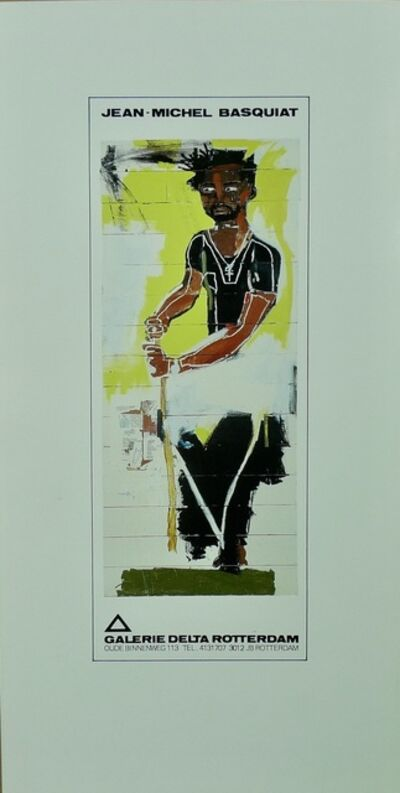 Jean-Michel Basquiat, 'Untitled(Portrait of Jack Walls)', 1986