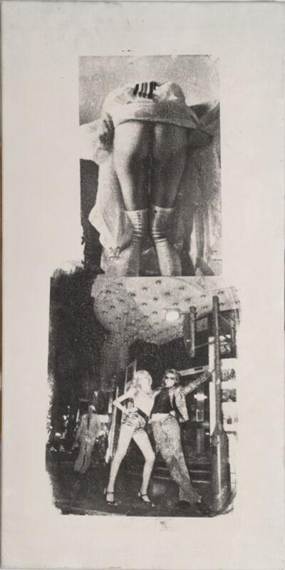 Mimmo Rotella, 'Introspezione aperta', 1972