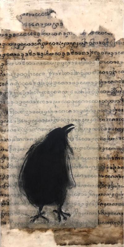 Catherine Eaton Skinner, 'Raven Speaks III'
