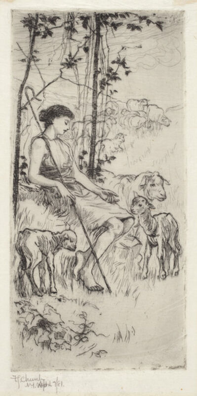 Frederick Stuart Church, 'A Pastoral', 1881
