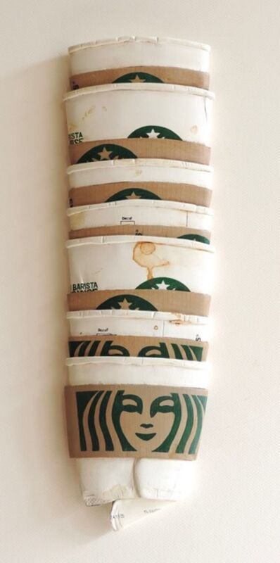 Thomas Pfannerstill, 'A Week of Starbucks', 2019