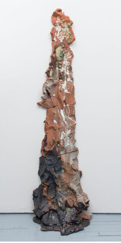 Brie Ruais, 'Red Push 2 (130lbs)', 2017