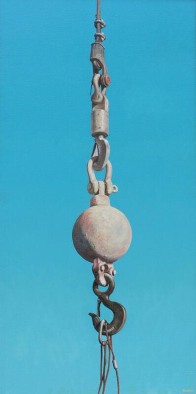 Joseph E. Richards, 'Untitled (Pink Ball and Hook)', 1981