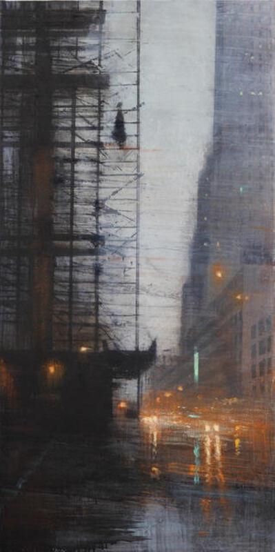 ALEJANDRO QUINCOCES, 'Estructura bajo la lluvia ', 2018