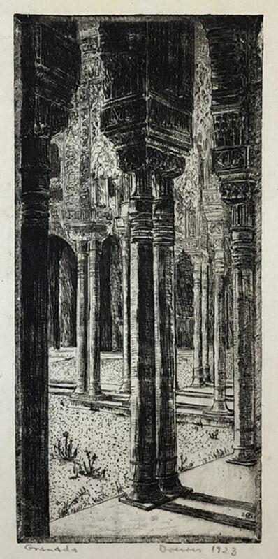 Werner Drewes, 'Granada - Alhambra', 1923