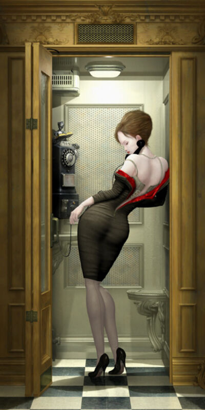 Ray Caesar, 'Night Call', 2012