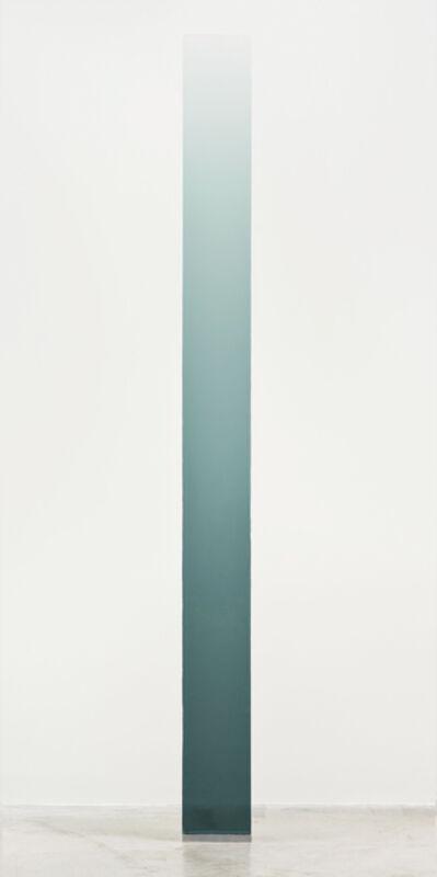 Peter Alexander, '4/18/14 (Grey Green Wedge)', 2014