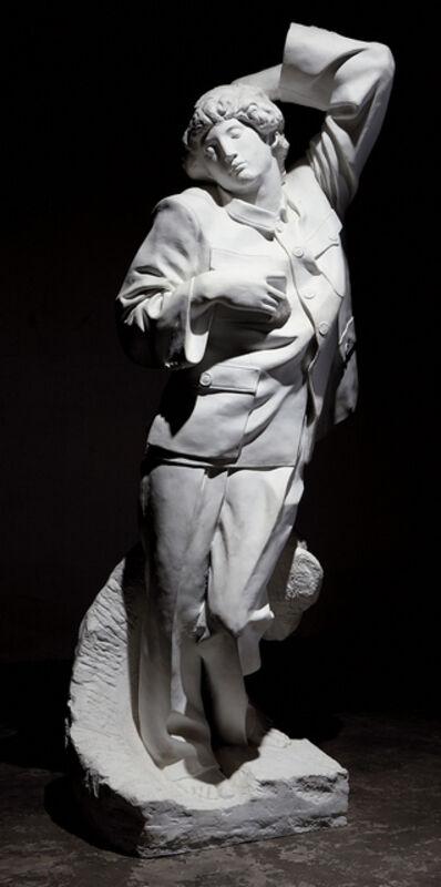 Sui Jianguo 隋建国, 'Dying Slave', 1998