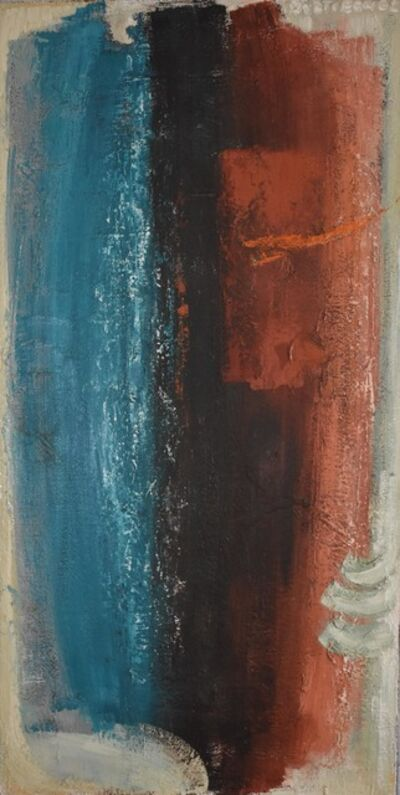 Dusti Bongé, 'Untitled (Blue, Black and Red Composition)', ca. 1957