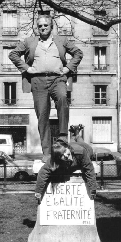 Marie Orensanz, 'Liberté, Egalité, Fraternité', 1982