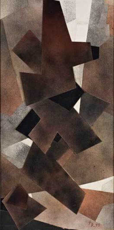 Hans Richter, 'Vibra No.43', 1975