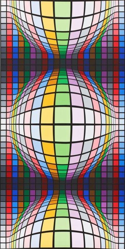 Victor Vasarely, 'Gannat', 1984