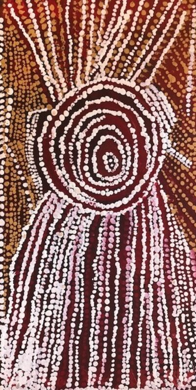 Bill Whiskey Tjapaltjarri, 'Rockholes Near the Olgas (cat: NABWT_RNO10-070018PAG)', 2007