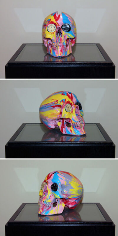 Damien Hirst, 'The Hours Spin Skull #2', 2009