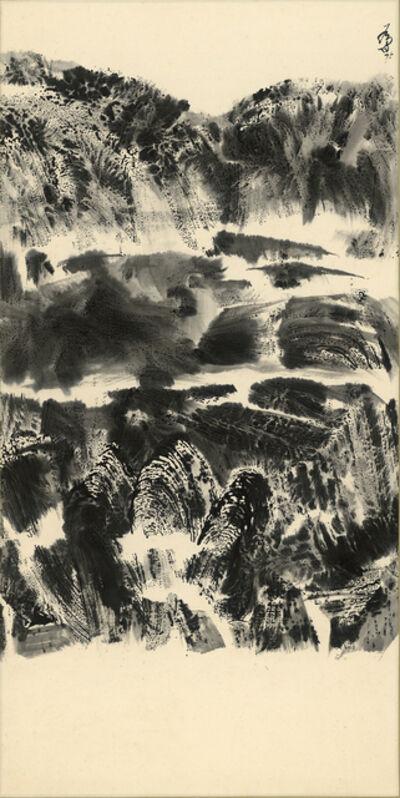 Chu Wei-Bor, 'Mountain But Not-3', 1975