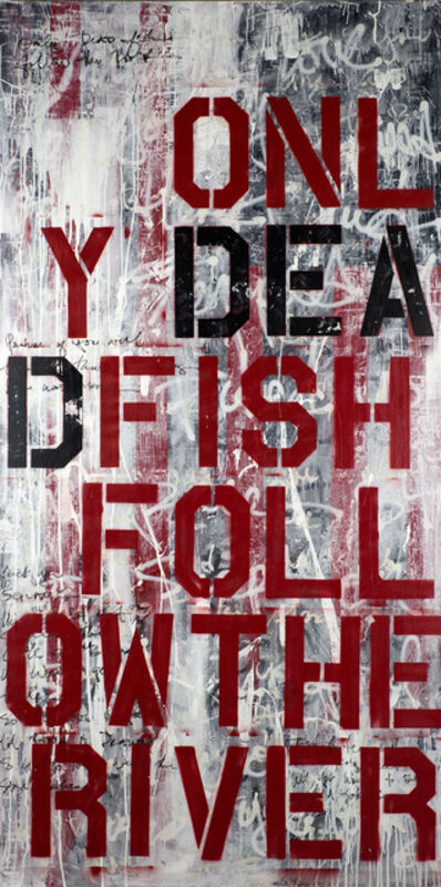 Ashleigh Sumner, 'Only Dead Fish Follow The River', 2014
