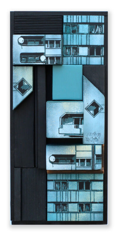 Jana & JS, 'Reconstitution de façade n° 103', 2015