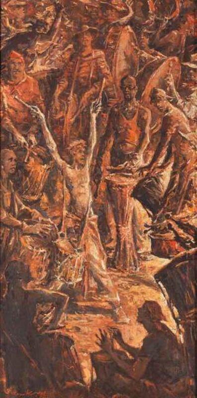 Sergei Chepik, 'La Tambour, Feria in Arles', 2002
