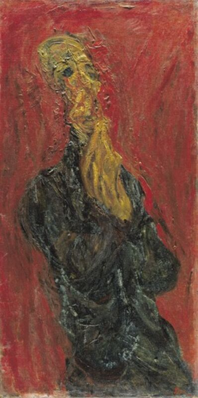 Chaim Soutine, 'L'Homme en Priere. (The man in Prayer)', 1921-1922